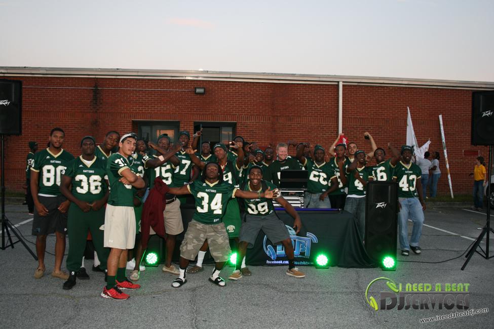 Ware County High School Homecoming Bonfire 2013 I Need A Beat Dj